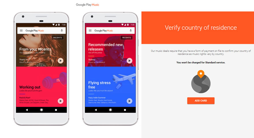 Google Play Music revamped