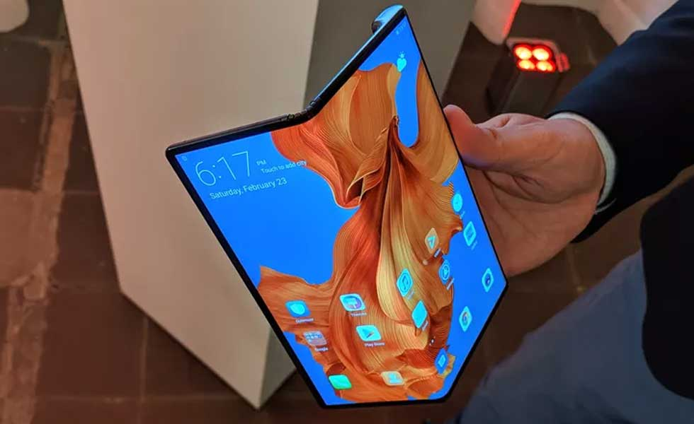 Huawei's Mate X foldable phone