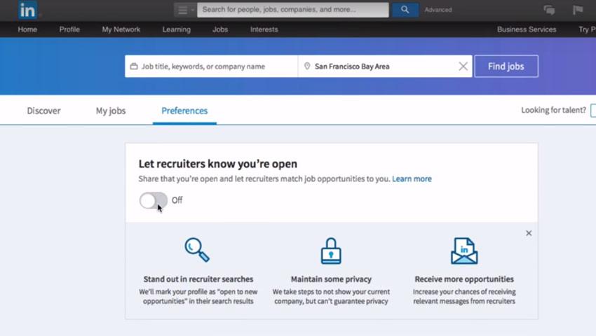 LinkedIn-open-candidate