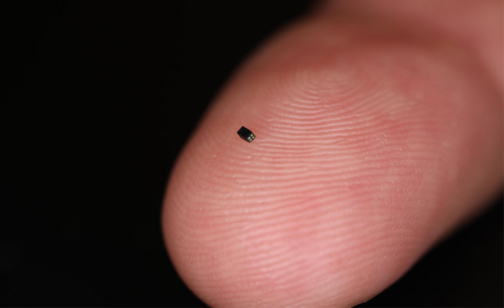 OmniVision OV6948 image sensor—it now holds the record for the smallest image sensor in the world