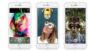 Facebook Camera app feature