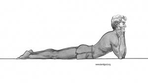 Makarasana Yoga