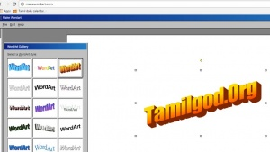 Make Word Art Online
