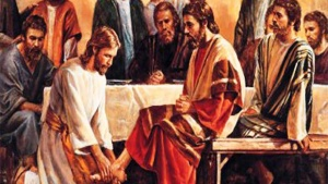 Maundy Thursday - Jesus served his disciples by washing their feet