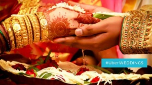UberWeddings uber cabs