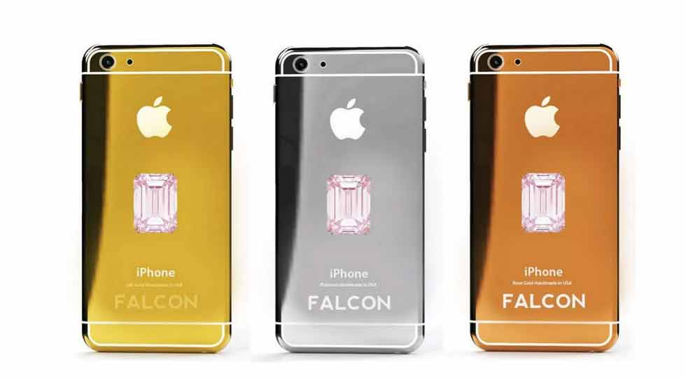 Falcon Supernova iPhone 6 Pink Diamond