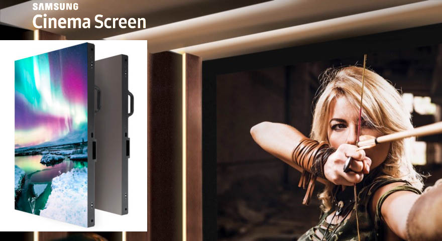 Samsung cinema theater screen