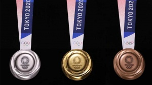 Tokyo 2020 Olympic medals made from 80,000 tons of recycled mobile phones