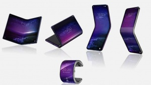 TCL Flexible foldable smartphones tablets