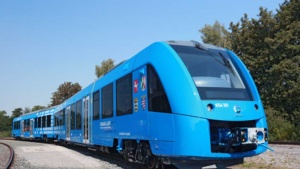 hydrogen fuel cell train