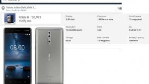 NOKIA 8 Price revealed