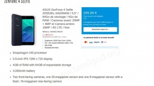 Zenfone 4 Selfie